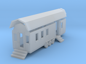 Tiny House #92 - 1:87 Scale Miniature in Smooth Fine Detail Plastic