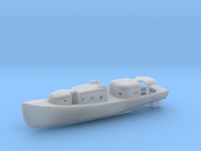 1/72 USN Admirals Boat in Smooth Fine Detail Plastic
