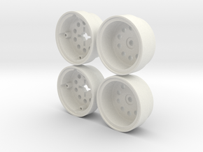 Marui Hunter/Galaxy Rear Wheel set in White Natural Versatile Plastic