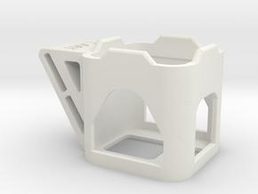 Runcam 3 Fpv camera Mount in White Natural Versatile Plastic