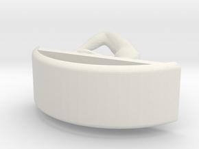 Yoga Jewelry earring 1 hoop in White Natural Versatile Plastic