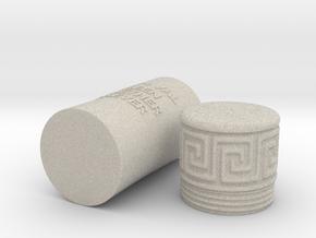 Greek Urn in Natural Sandstone