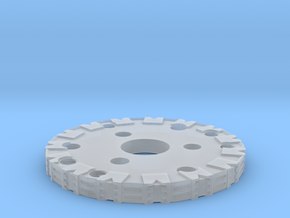 Detailed Chassis Disk in Smooth Fine Detail Plastic