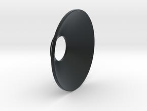 Cone_O_S2 in Black Hi-Def Acrylate
