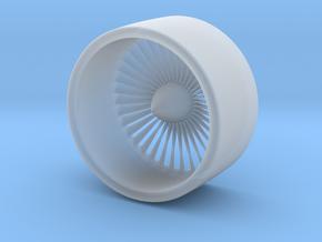 1/72 Boeing Jet Engine Part 1/2 in Smooth Fine Detail Plastic