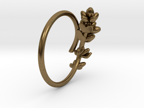 Lavender Ring in Natural Bronze: 5 / 49