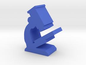 Game Piece, Microscope in Blue Processed Versatile Plastic