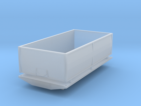 16 Foot Grain Box in Smooth Fine Detail Plastic