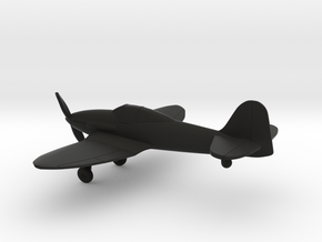 Heinkel He 112 in Black Natural Versatile Plastic: 1:144
