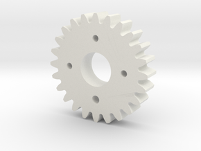 Metal/Plastic elevation gear for S3003 servo in White Natural Versatile Plastic