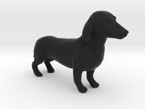 Dachshunds in Black Natural Versatile Plastic: 1:22.5