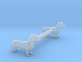 Dachshunds in Smoothest Fine Detail Plastic: 1:160 - N