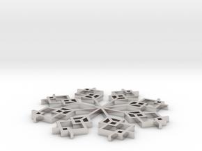 Snowflake 1 in Platinum