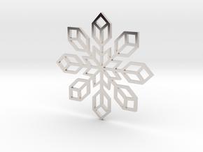 Snowflake 2 in Platinum