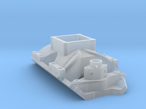 Edelbrock single-plane EFI intake in Smooth Fine Detail Plastic