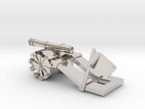 Tank paperweight in Platinum: Small