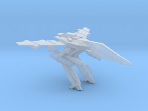 1/350 VF-1 Gerwalk Mode Carrier Diorama in Smooth Fine Detail Plastic