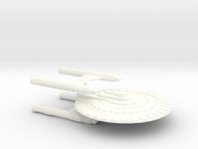 Argo Class (2) in White Processed Versatile Plastic