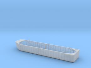 1/56th scale Austro-Hungarian pontoon (long) in Smooth Fine Detail Plastic