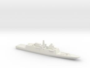 Aquitaine class FFG, 1/2400 in White Natural Versatile Plastic