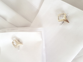 HEAD TO HEAD Matchless, Cufflinks in Polished Silver