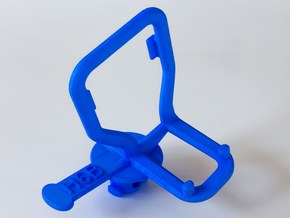Panohero Bracket-H6B in Blue Processed Versatile Plastic