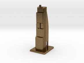 Modern Skyscraper in Natural Bronze