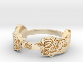 I Saw It First (Ring Size 8) in 14k Gold Plated