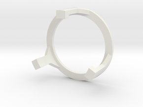 89sabers Sidious - Part (4/4) SpeakerHolder Top in White Natural Versatile Plastic