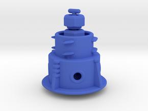 Panohero Foot with Hex Nuts in Blue Processed Versatile Plastic: Medium