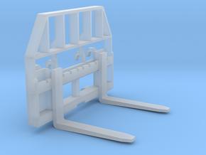 1/64 Pallet Forks (Fits H480 Loader) in Smooth Fine Detail Plastic