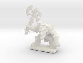 HeroQuest FrozenHorror 28mm heroic scale miniature in White Natural Versatile Plastic