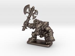 HeroQuest FrozenHorror 28mm heroic scale miniature in Polished Bronzed Silver Steel