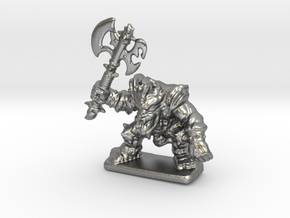 HeroQuest FrozenHorror 28mm heroic scale miniature in Natural Silver