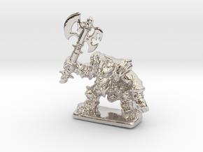 HeroQuest FrozenHorror 28mm heroic scale miniature in Platinum