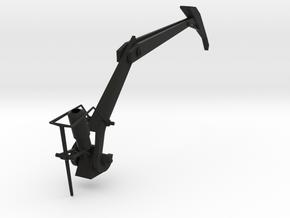 Portal Gun - Claw in Black Natural Versatile Plastic