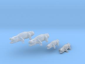 Krokodile - 1:160 (N scale) in Smoothest Fine Detail Plastic