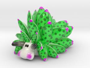 Costasiella Kuroshimae_Leaf Sheep  in Glossy Full Color Sandstone: Small