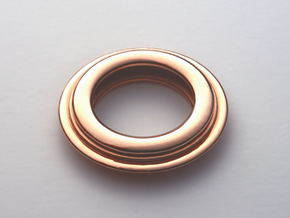 PNEUS Pendant (Michelin) in 14k Rose Gold Plated Brass