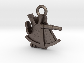 boOpGame Shop - The Sextant in Polished Bronzed Silver Steel