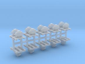 Elektromotoren auf Europalette 10er Set 3 - 1:87 H in Smooth Fine Detail Plastic