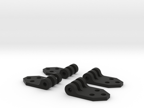Ford Bronco door hinges by TrailScaleRC in Black Natural Versatile Plastic