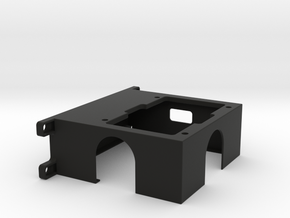 Under-hood Fuse Block Mount for LS conversions in Black Natural Versatile Plastic