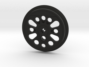 XXL Boxpok Flanged Driver with Traction Groove in Black Premium Versatile Plastic