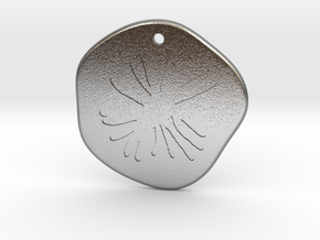 Aster Medallion in Natural Silver