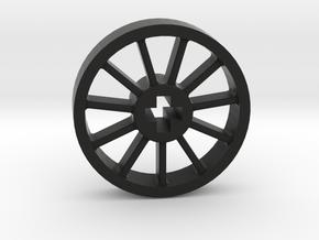 Medium Blind Driver With No Pin in Black Premium Versatile Plastic