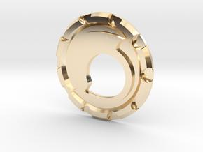 Steemit Challenge Coin in 14K Yellow Gold