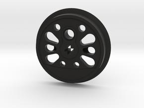 XL Boxpok Flanged Driver - L Counterweight No Groo in Black Premium Versatile Plastic