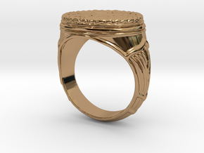 The Egyptian Ring SMK Contest in Polished Brass: 4 / 46.5