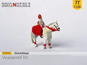 Sinterklaas (TT 1:120) in Smooth Fine Detail Plastic